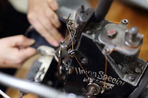 国内縫製技術の伝承