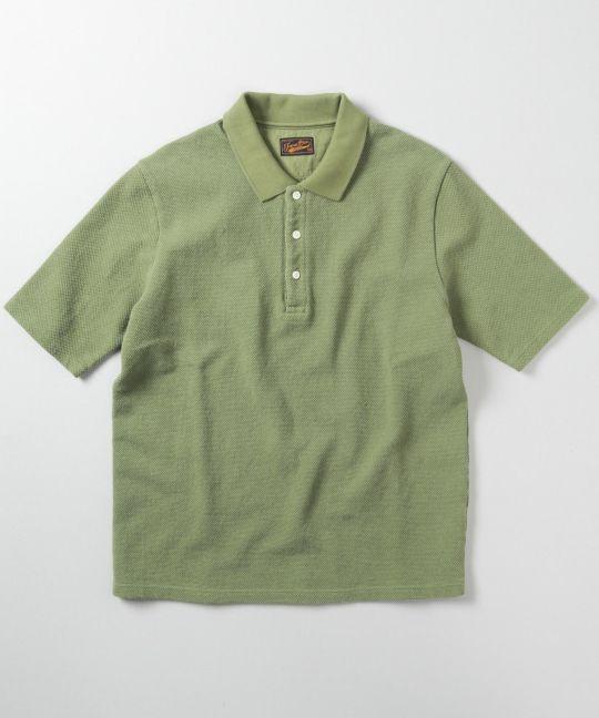 ペイズリー総柄開襟半袖シャツ