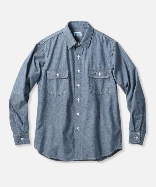 コートジボワール綿 ワークシャツ